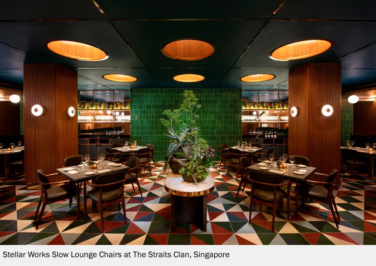 The Straits Clan Interior Design in Singapore With Stellar Works Chair