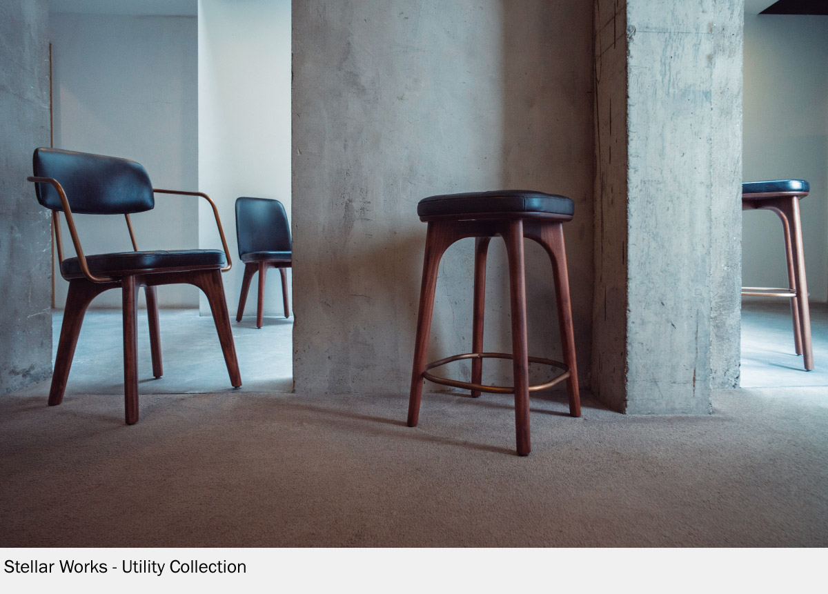 Utility Stool Collection by Stellar Works