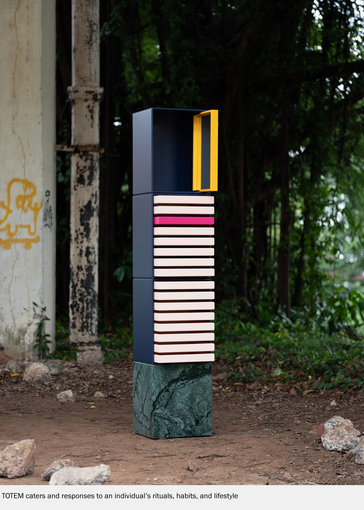 TOTEM Caters Responses to an Individual's Rituals