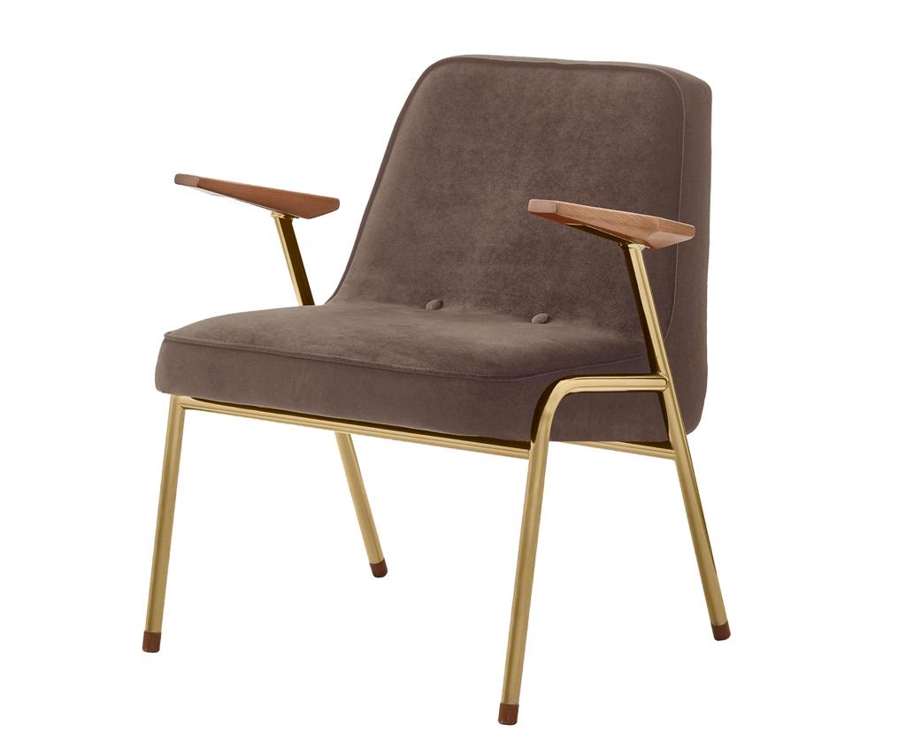 366 Concept Metal Armchair