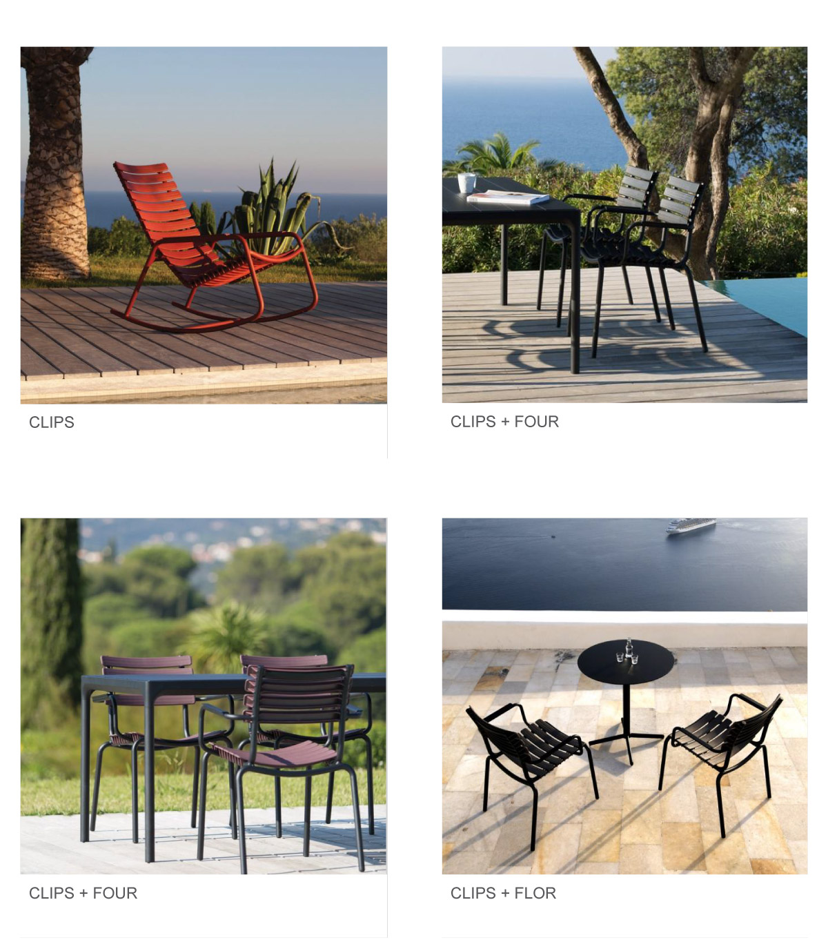Houe Outdoor Furniture Collection at P5 Studio