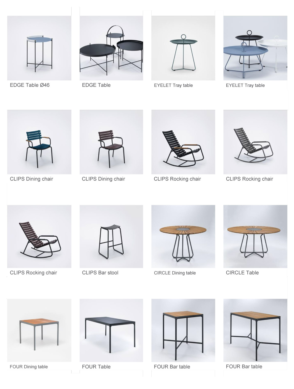 EDGE, EYELET and Other Furniture
