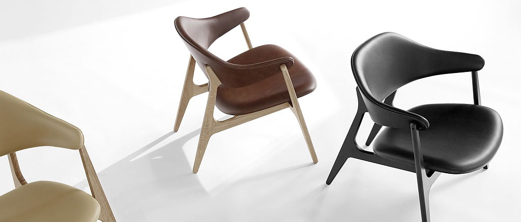 Houe Span Lounge Chair at P5 Studio