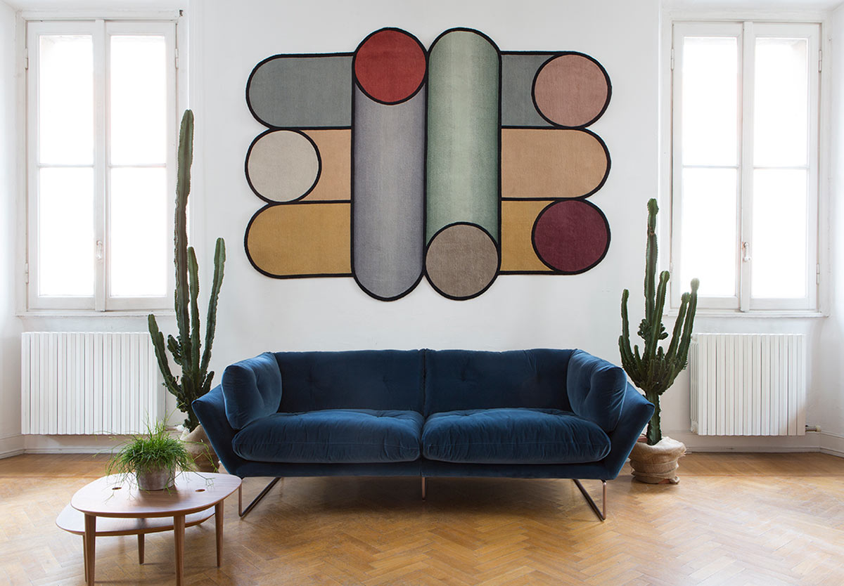 Saba Italia New York Suite Sofa at P5 Studio