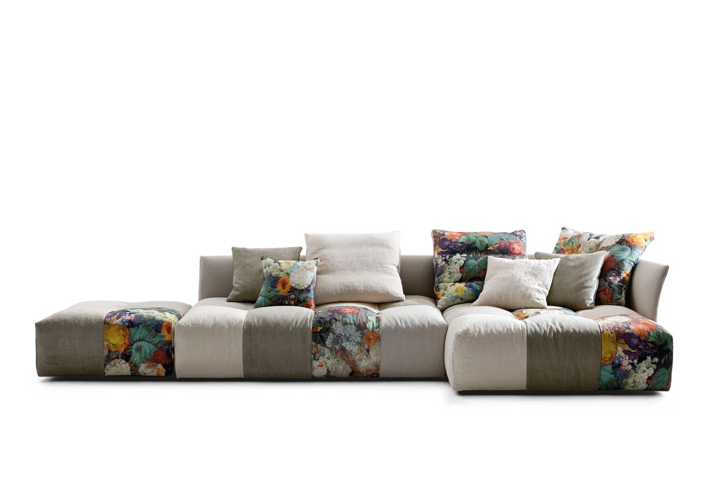 Saba Italia Pizel Sofa at P5 Studio