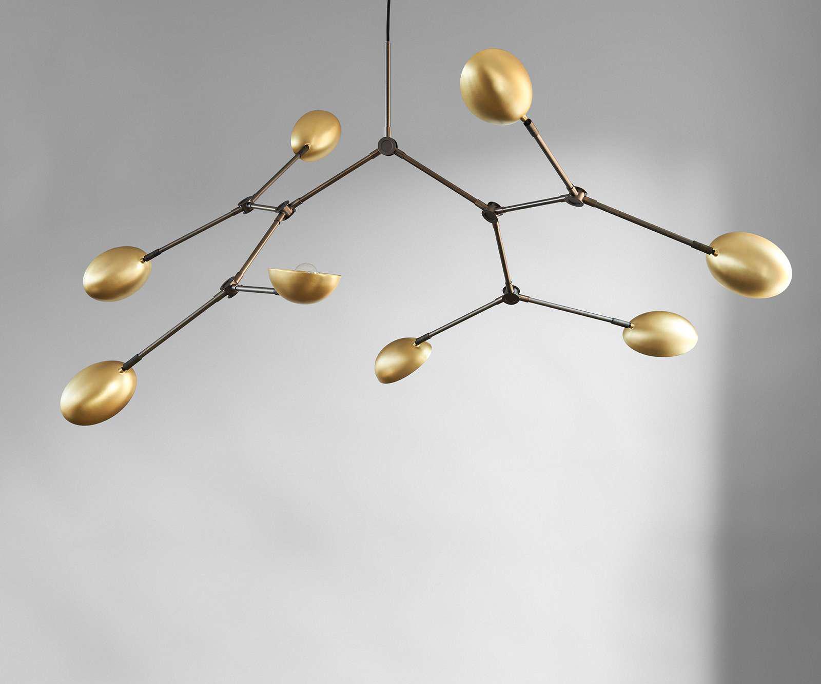101 Copenhagen Drop Chandelier Lamp