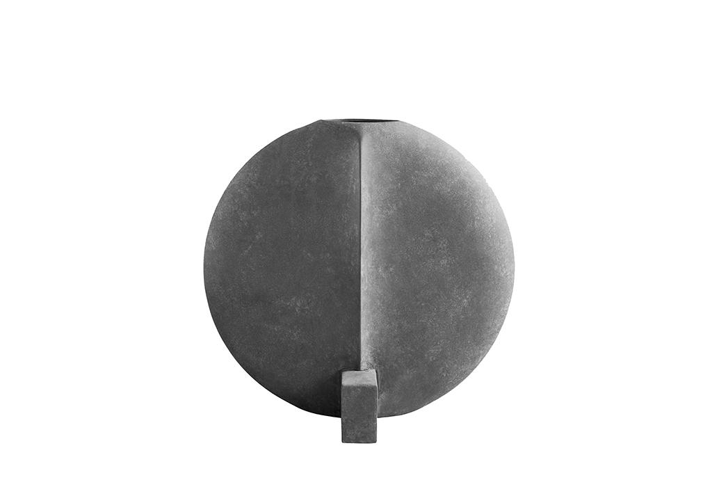 Guggenheim Vase Grey