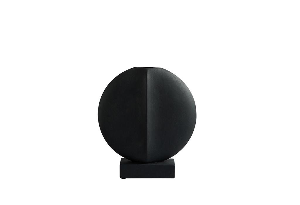 Guggenheim Vase Black
