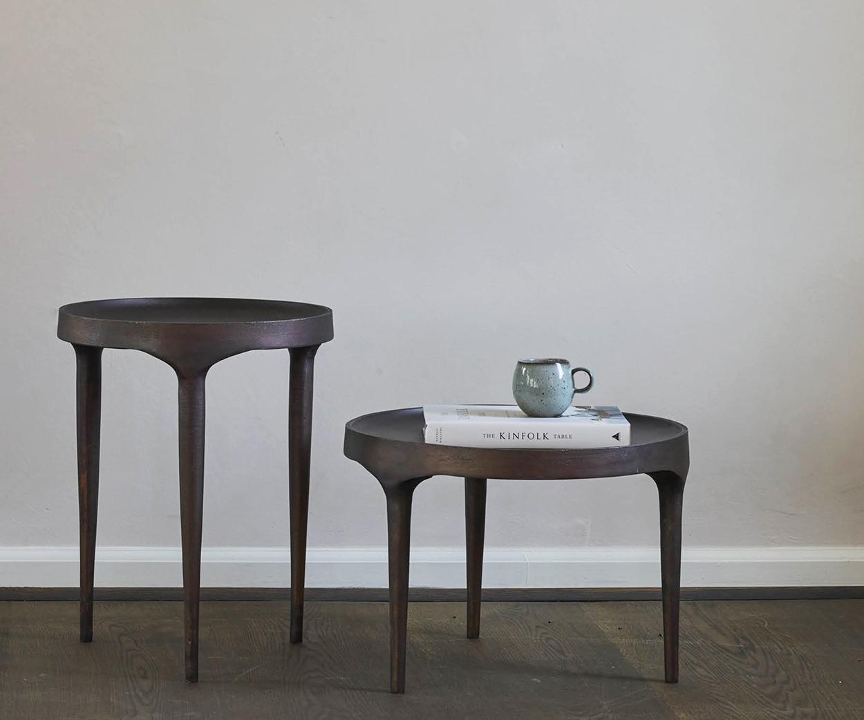 101 Copenhagen Phantom Coffee Table Tall and Short In a Room