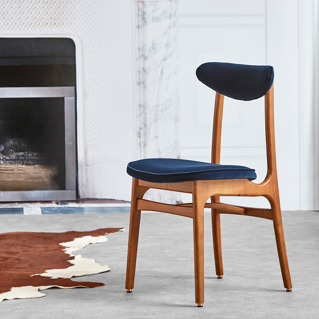 366 Concept 200-190 Dining Chair Blue