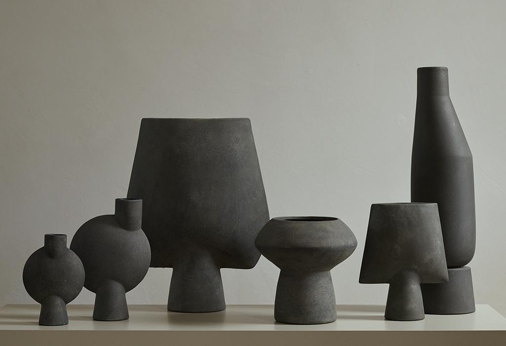 101 Copenhagen Sphere Vase Family Dark Color