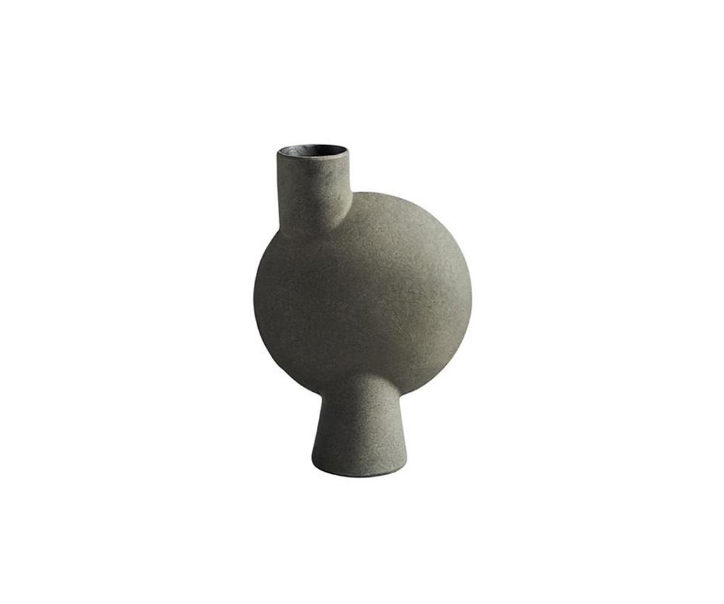 101 Copenhagen – Sphere Vase Bubl Medio Dark Grey