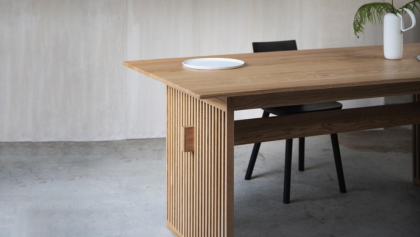 Ariake Lattice Dining Table