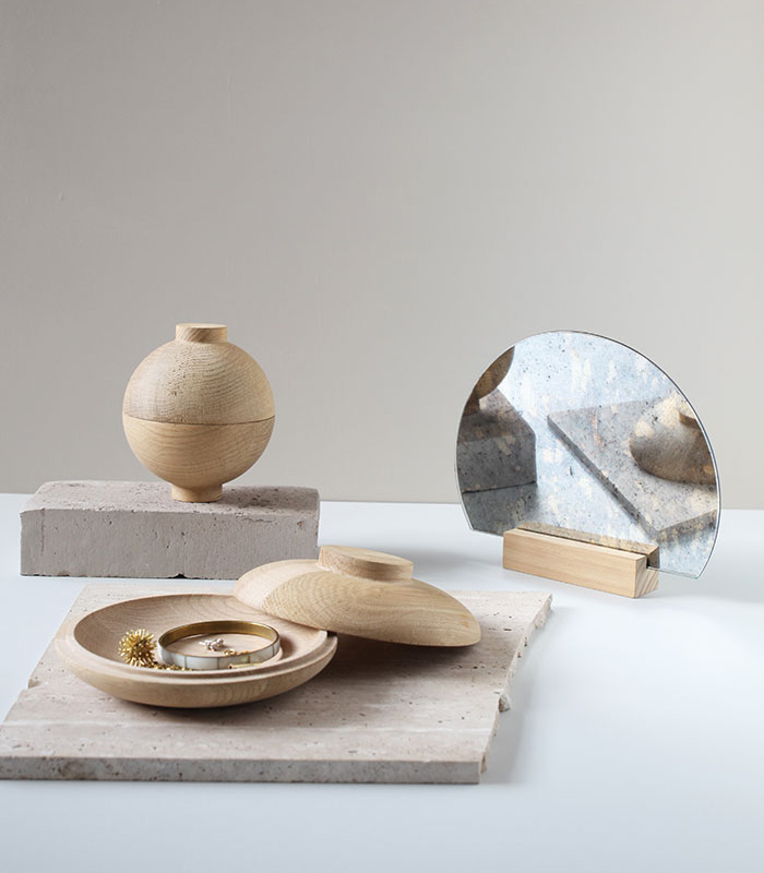 Kristina Dam Studio Wooden-Galaxy_Oak
