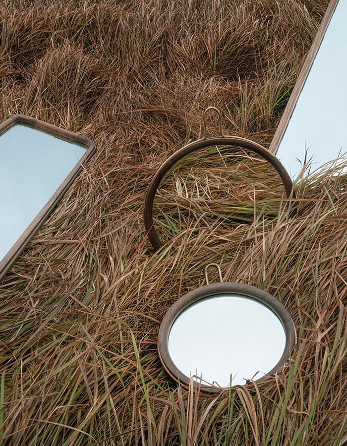 Stellar Works - Utility Round Mirror