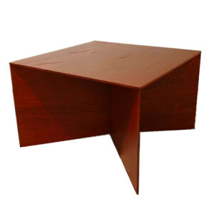 Ariake Paperwood Coffee Table Red
