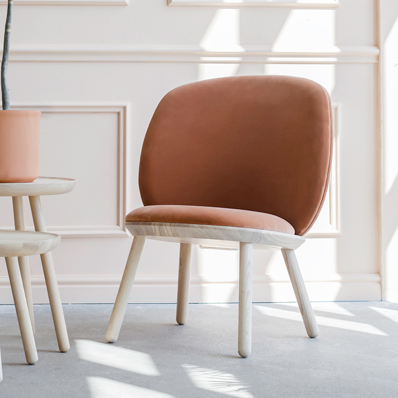 Emko-Naïve-Low-Chair-Terracotta-Velour-