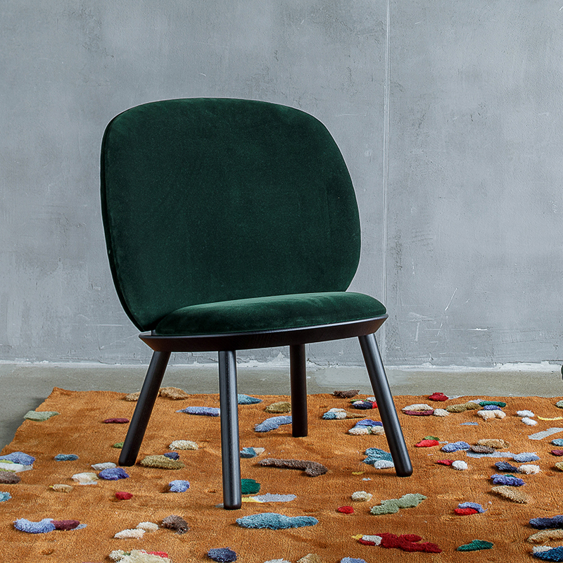 Emko Naiive Low Chair Green