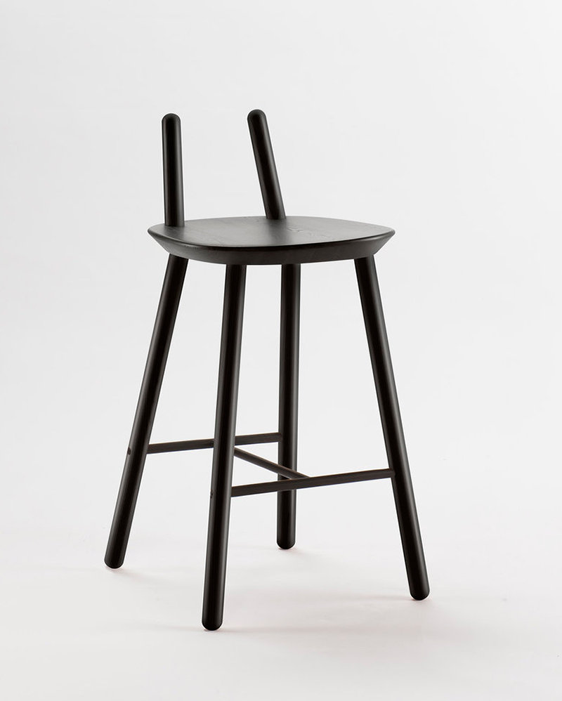 Emko-Naïve-Semi-Bar-Chair-Black