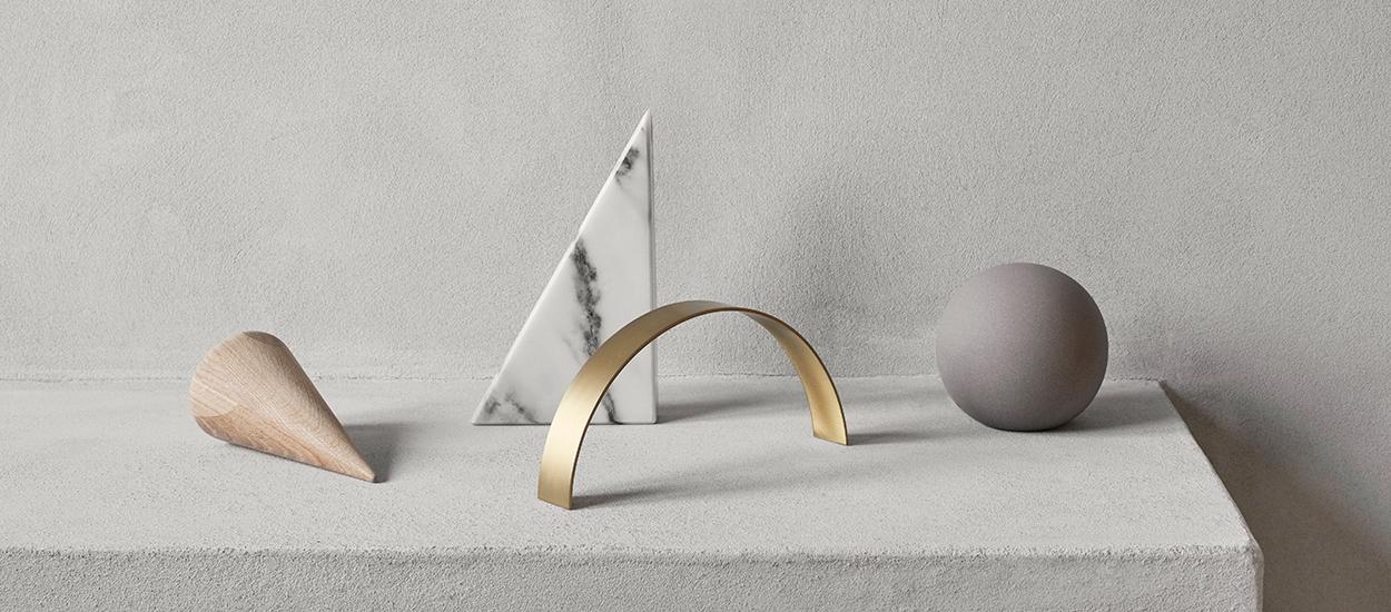 Kristina Dam Studio Desk Sculptures